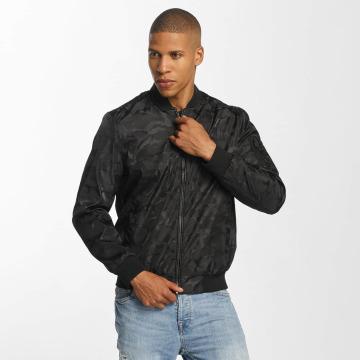 Brave Soul Bomber jacket Jaquard Camo black