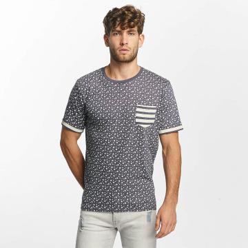 Brave Soul Camiseta All Over Star Print azul