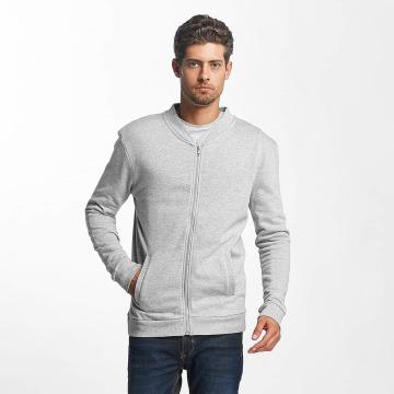 Brave Soul Lightweight Jacket Wallacef Baseball Style grey