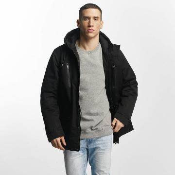 Brave Soul Manteau hiver Brave Soul Jacket noir