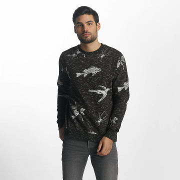 Brave Soul Pullover Sweatshirt grau