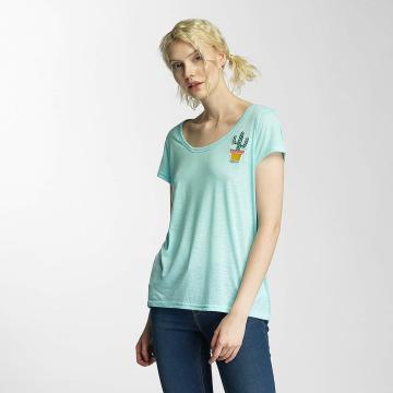Brave Soul T-Shirt Cactus Badge grün