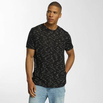Brave Soul t-shirt All Over zwart