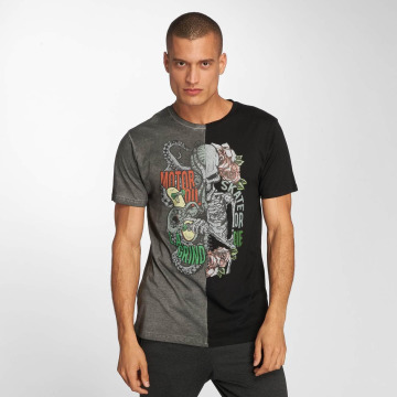 Brave Soul t-shirt Octo zwart