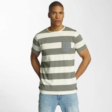Brave Soul T-shirts Printed Crew Neck beige