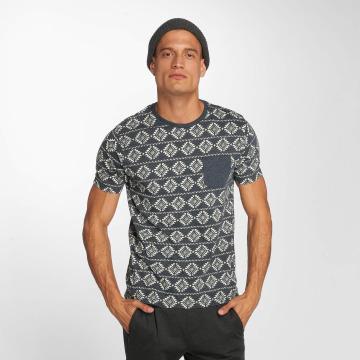 Brave Soul T-shirts Deon blå