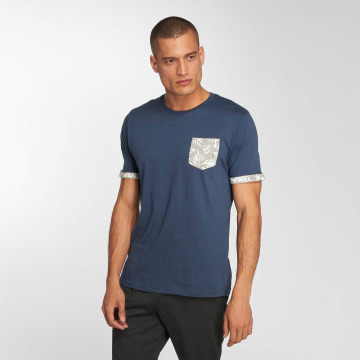 Brave Soul T-shirts Viola blå