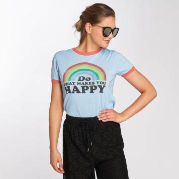 Brave Soul T-shirts Happy blå