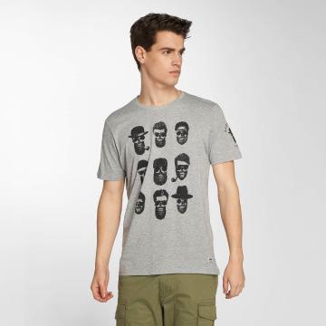 Brave Soul T-shirts Pogo grå