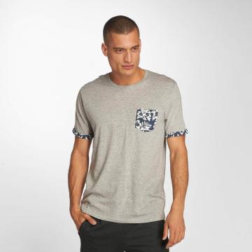 Brave Soul T-shirts Viola grå
