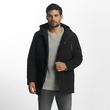 Brave Soul Transitional Jackets Winter svart