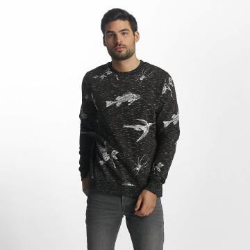 Brave Soul trui Sweatshirt grijs
