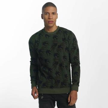 Brave Soul trui Sweatshirt Mid khaki