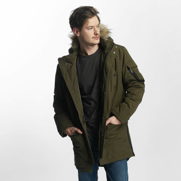 Brave Soul Winter Jacket Mane khaki