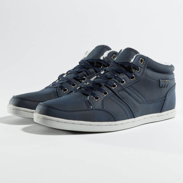 British Knights Baskets Re-Style Mid PU WL bleu