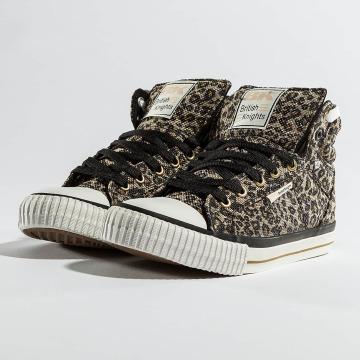 British Knights sneaker Dee Textile Leopard beige