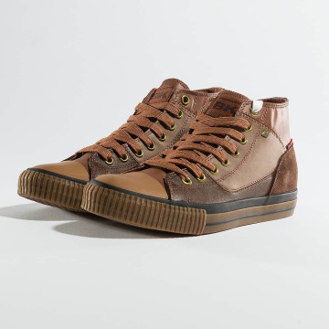 British Knights Sneakers Slider PU Suede brown