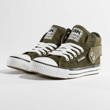 British Knights Sneakers Roco Suede Profile khaki