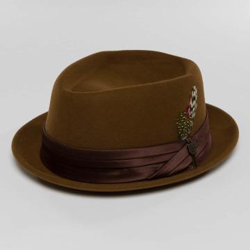 Brixton Шляпа Stout коричневый