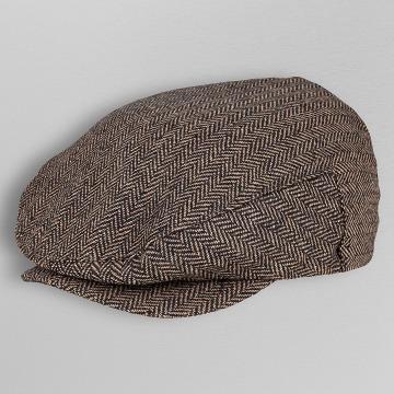 Brixton hoed Hooligan bruin