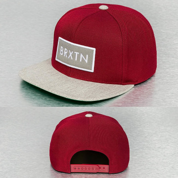 Brixton snapback cap Rift rood