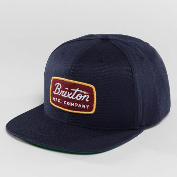 Brixton Snapback Caps Jolt blå