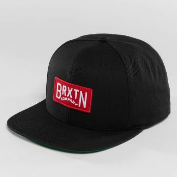 Brixton Snapback Caps Langlay svart
