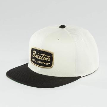 Brixton Snapback Caps Jolt valkoinen