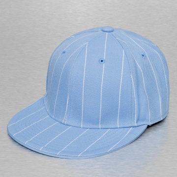 Cap Crony Casquette Fitted Pin Striped bleu