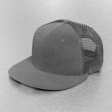 Cap Crony Casquette Trucker mesh 6 Panel Flat Terry gris
