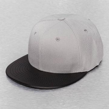 Cap Crony Snapback Cap Acrylic Vinyl grigio
