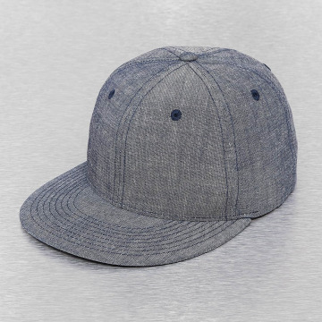 Cap Crony Snapback Caps Washed Denim sininen