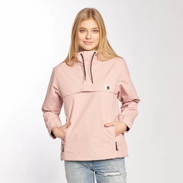 Carhartt WIP Демисезонная куртка Supplex Nimbus Pullover розовый