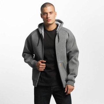 Carhartt WIP Демисезонная куртка Car-Lux Hooded серый
