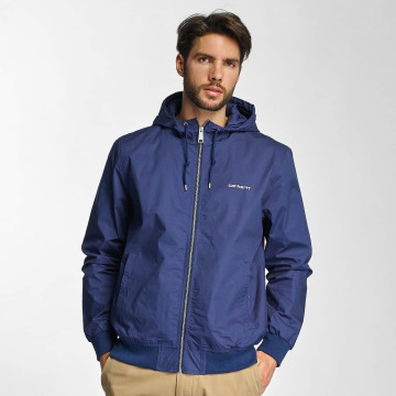 Carhartt WIP Демисезонная куртка Marsh Cotton Poplin синий