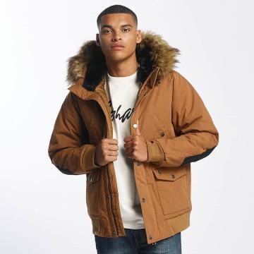 Carhartt WIP Зимняя куртка Trapper коричневый