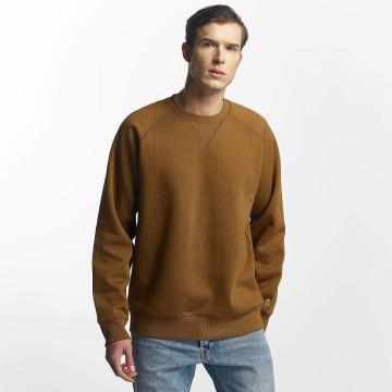 Carhartt WIP Пуловер WIP Chase коричневый