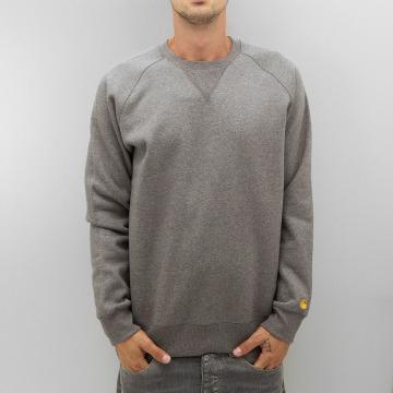 Carhartt WIP Пуловер Chase серый