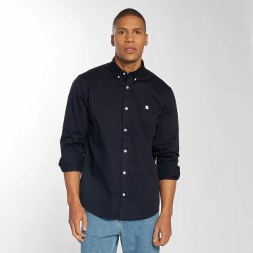 Carhartt WIP Рубашка Madison Regular Fit синий