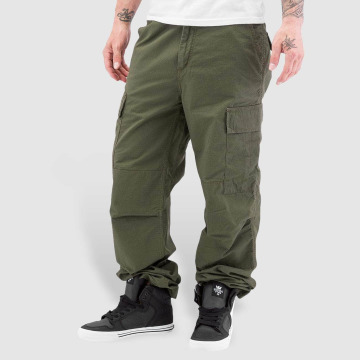Carhartt WIP Cargo pants Columbia Relaxed oliv