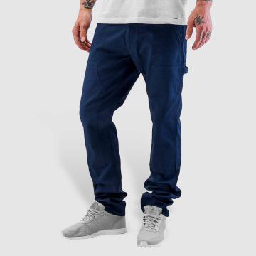 Carhartt WIP Dżinsy straight fit Lincoln Double Knee niebieski