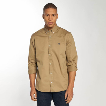 Carhartt WIP Hemd Madison Regular Fit braun