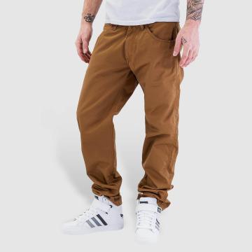 Carhartt WIP Løstsittende bukser Cortez Slim Fit Skill brun