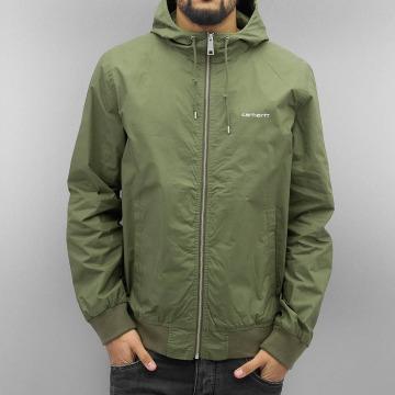 Carhartt WIP Lightweight Jacket Marsh Cotton Poplin green