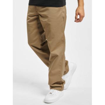 Carhartt WIP Loose Fit Jeans Denison Twill Simple béžový