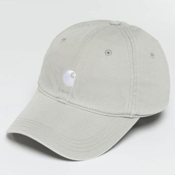 Carhartt WIP Snapback Caps Major harmaa