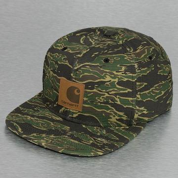 Carhartt WIP Snapback Caps Logo Canvas moro