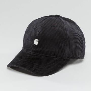 Carhartt WIP Snapback Caps Madison Logo Cord niebieski