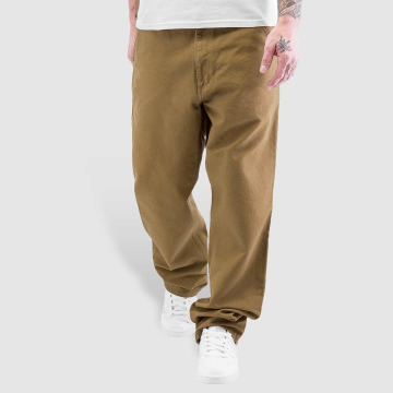 Carhartt WIP Spodnie wizytowe Turner Single Knee brazowy