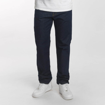 Carhartt WIP Straight Fit Jeans Milton Pontiac Relaxed blau